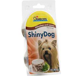 Gimborn Shiny dog konz. -kuře +jehně 2x 85g
