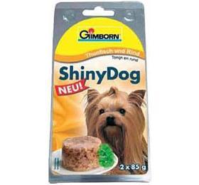 Gimborn Shiny dog konz. -tuňák, hovězí 2x 85g