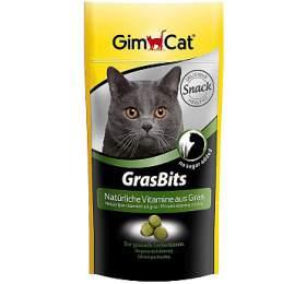 Gimcat Tablety GrasBits s kočičí trávou 40 g