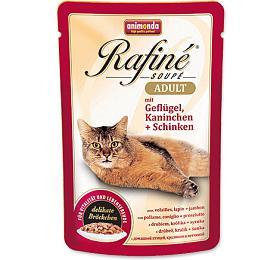 Animonda Rafine Soupe cat kaps. - drůbež, králík, šunka 100 g