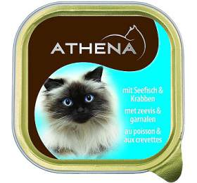Athena cat van. paštika - mořská ryba, krab 100 g