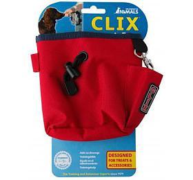 Pamlsovník nylon červený Clix 1ks