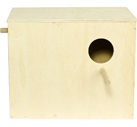 Budka hnízdící - andulka 24 x 20 x 15 cm