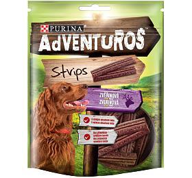 Adventuros snack dog -plátky sezvěřinou 90g