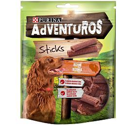 Adventuros snack dog -tyčinky sbizoní přích. 120 g
