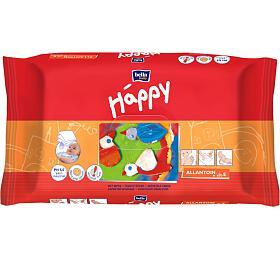 HAPPY Vlhčené ubrousky á64 ksBella