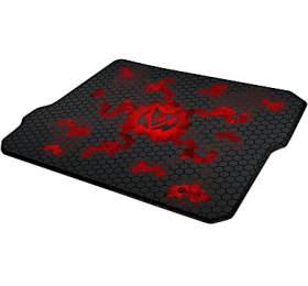 C-TECH ANTHEA, herní podložka, obšité okraje, červená