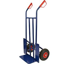 Vozík ruční / rudl, nosnst 200 kg, kola 350x180 mm, GEKO