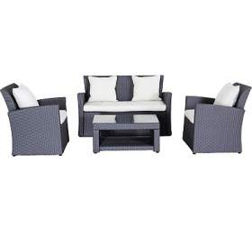 Creador Wicke 4+grey lux, sestava nábytku zratanu