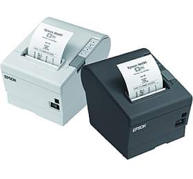 EPSON TM-T88V-321B0- černá/USB/Wi-Fi/zdroj/řezačka/EU kabel