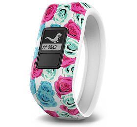 Garmin Vívofit2 White HR- monitorovací náramek/hodinky, bez nutnosti nabíjení