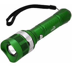 Svítilna ruční LED 150lm ZOOM 3 funkce CATTARA