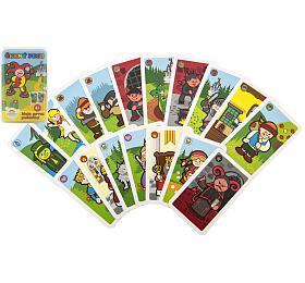 Černý Petr Moje první pohádky společenská hra -karty vpapírové krabičce 6x9cm