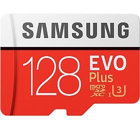 Samsung micro SDXC 128GB EVO Plus +SD adaptér