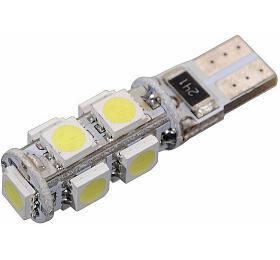 Žárovka 9SMD LED 12V T10 srezistorem CAN-BUS ready bílá COMPASS
