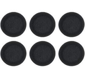Koss molitanové náušníky pro PORTA PRO, 3páry -černá