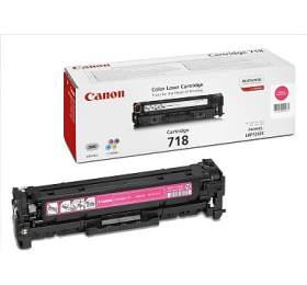 Canon CRG-718M, 2900 stran originální - červený