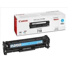 Canon CRG-718C, 2900 stran originální - modrý