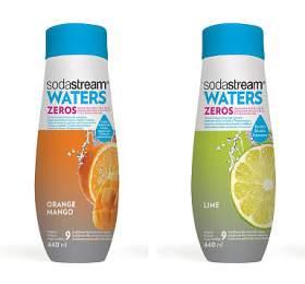 Sodastream Sirup ZERO Pomeranč-Mango 440 ml +  Sirup ZERO Limetka 440 ml