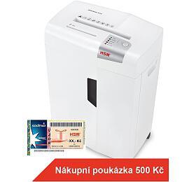 HSM skartovačka ShredStar X13/ formát A4/ velikost řezu 4x37mm/ stupeň utajení 3/ bílá