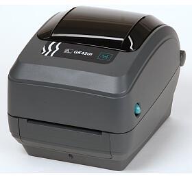 Tiskárna Zebra GK420t, 203dpi, USB, RS-232, LPT, TT