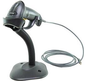 Motorola DS4308 2Dsnímač, USB kabel, stojánek, černá