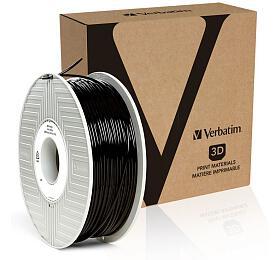 Verbatim ABS struna 2,85 mmpro 3Dtiskárnu, 1kg, černá