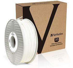 Verbatim PRIMALLOY struna 2,85 mm pro 3D tiskárnu, 0,5kg, bílá
