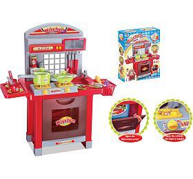 G21 Dětská kuchyňka Superior s příslušenstvím červená