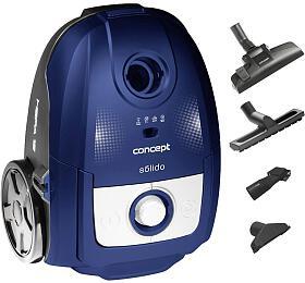 Concept VP8076 Sáčkový vysavač 700 W Solido modrý