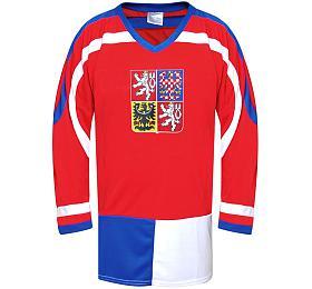 Hokejový dres ČR 1 Rulyt, červený, vel. XL
