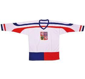 Hokejový dres ČR 2 Rulyt, bílý, vel. XL