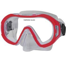 Potápěčská maska CALTER KIDS 168P Rulyt, červená