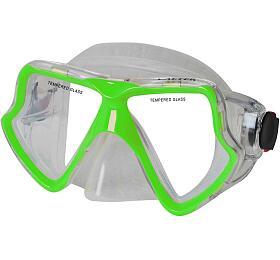 Potápěčská maska CALTER SENIOR 282S Rulyt, zelená
