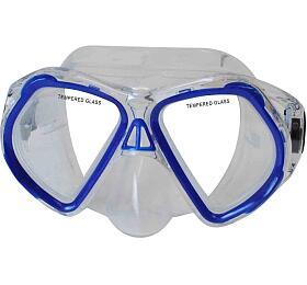 Potápěčská maska CALTER JUNIOR 4250P Rulyt, modrá