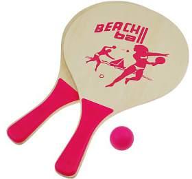 Plážový tenis set SportTeam, růžový