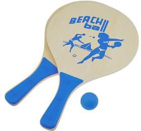 Plážový tenis set SportTeam, sv. modrý