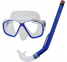 Potápěčský set CALTER KIDS S06+M278 PVC Rulyt, modrý