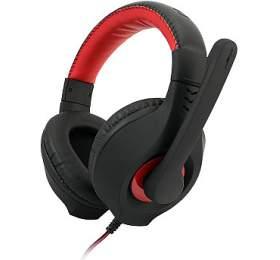 C-TECH Nemesis V2, casual gaming, černo-červená
