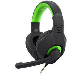 C-TECH Nemesis V2, casual gaming, černo-zelená