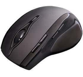 C-TECH WLM-11, černá, bezdrátová, 2400DPI, 8 tlačítek, programovatelná, USB nano receiver