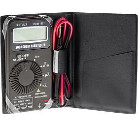 RDM 1001 Digitální multimetr Retlux