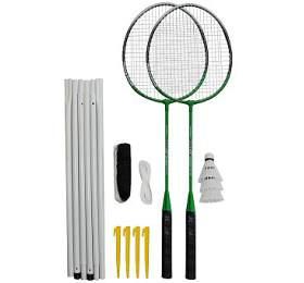 Badmintonový set 2xraketa Rulyt, 3xmíček, síť, vak
