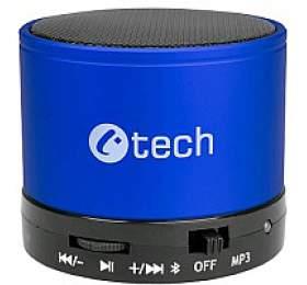 C-TECH SPK-04L, bluetooth, modré