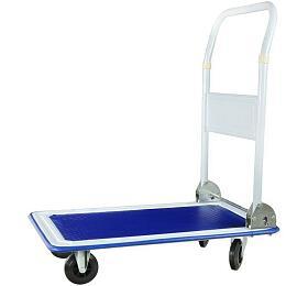 Ruční vozík, nosnost 150 kg, sklopná rukojeť GEKO