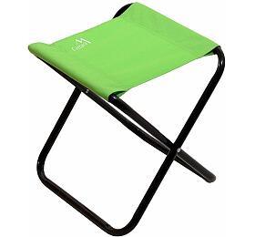 Židle kempingová skládací MILANO zelená CATTARA
