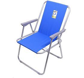 Židle kempingová skládací BERN modrá CATTARA