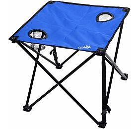 Stůl kempingový skládací LISBOA modrý, CATTARA