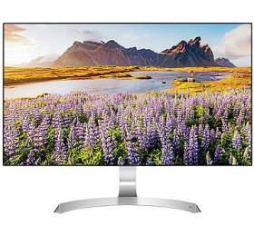 "LG MTIPS LCD LED 27"" 27MP89HM-S -IPS panel, 1920x1080, D-Sub, 2xHDMI, slim speakers MAXX audio 5Wx2"