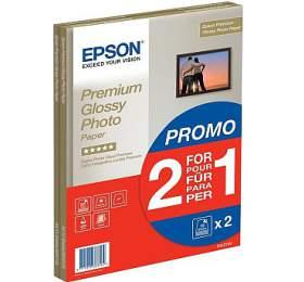 Epson papír Premium Glossy Photo, 255g/m, A4, 30ks